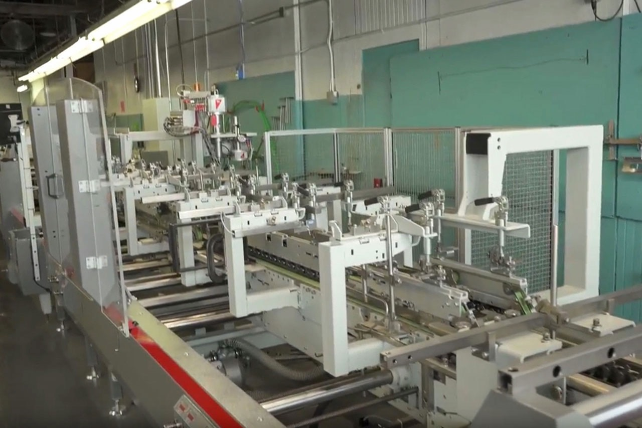 Food Industry Paper Packaging Machines
